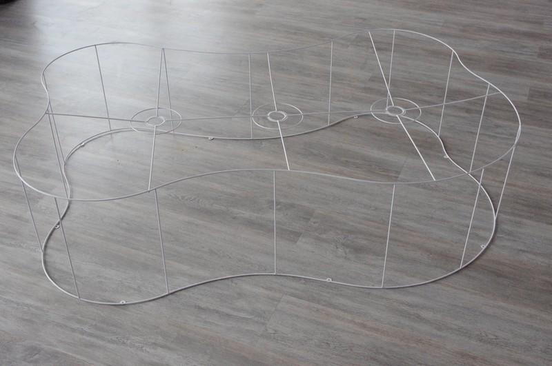 carcasse abat jour en forme de nuage carcasse abat jour. Black Bedroom Furniture Sets. Home Design Ideas