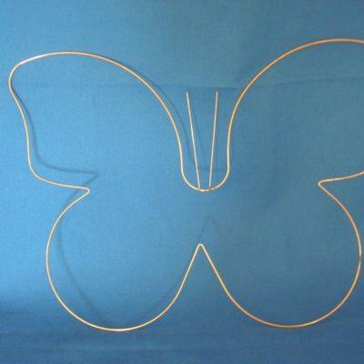 Carcasse abat-jour en forme de Papillon
