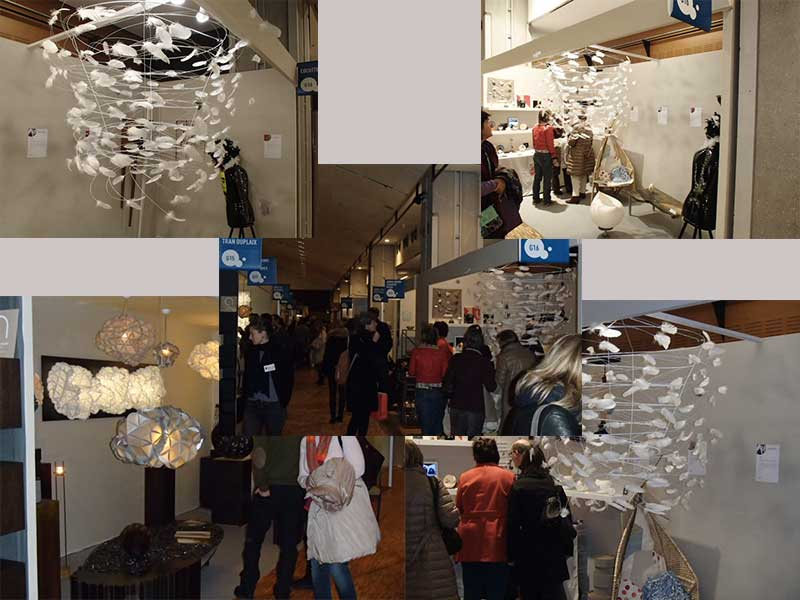 Salon Le Carrousel du Louvre pour Plumavera, préparation des pièces