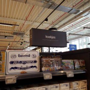 Carcasse et support métal pour Carrefour