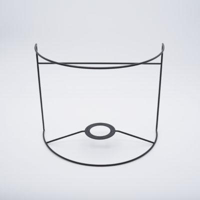 abat-jour ecran 1/2 cylindre