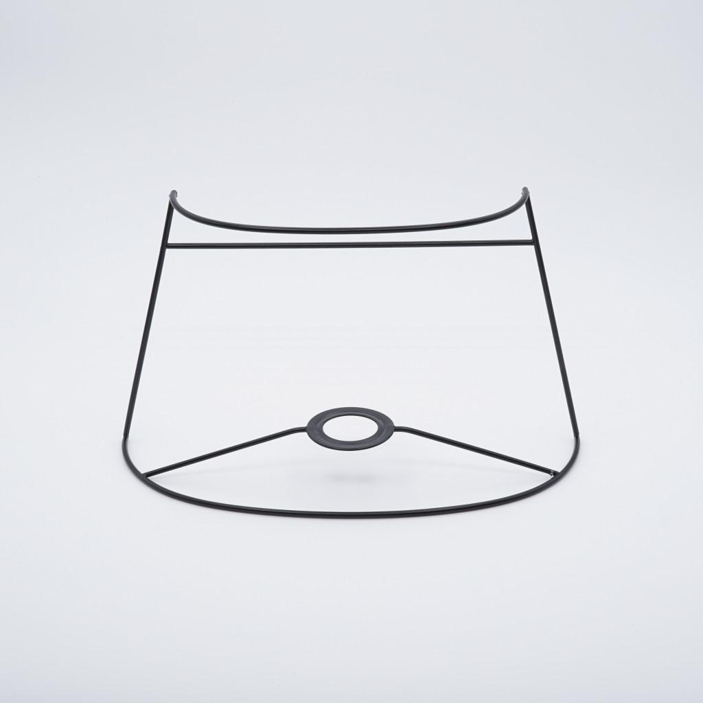abat-jour ecran ovale 1/2 lune