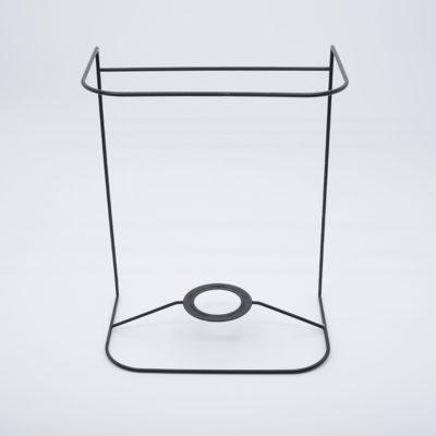 abat-jour ecran rectangle coins ronds