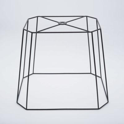 abat-jour rectangle a pans
