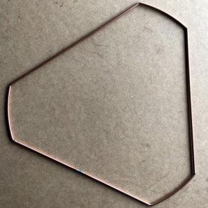 carcasse triangle nu a pans