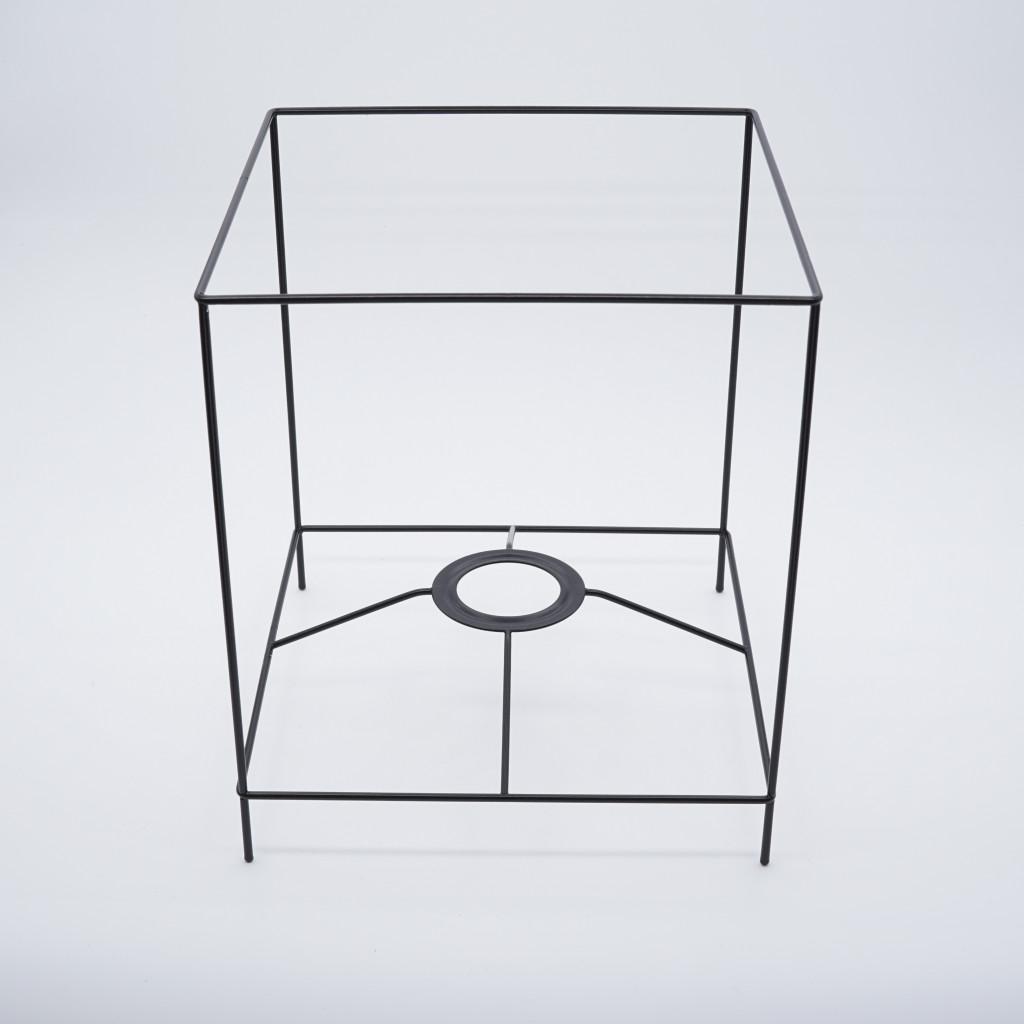abat-jour cube avec pieds