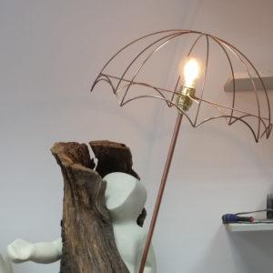carcasse abat-jour dome parapluie