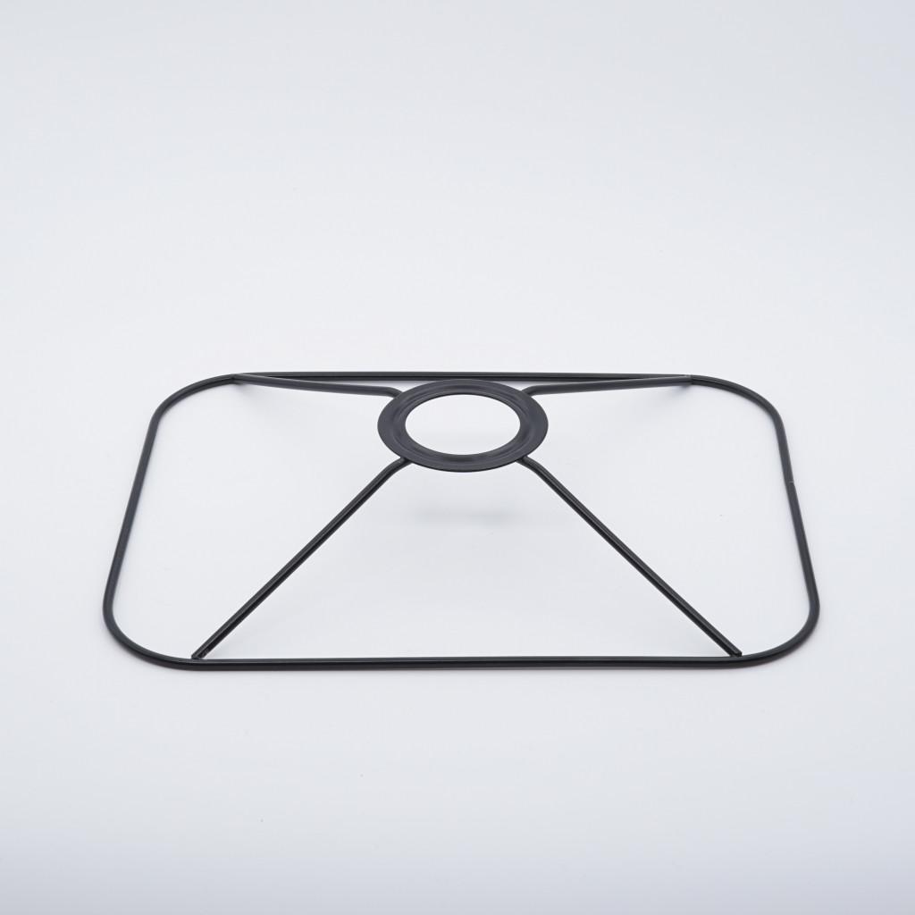 abat-jour tete rectangle coins ronds