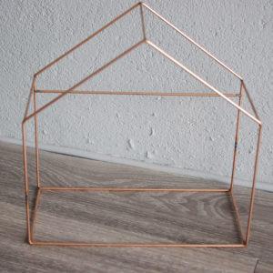carcasse abat-jour forme maison