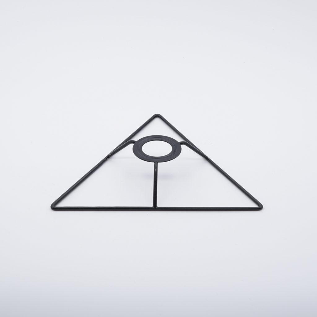 carcasse d'abat-jour tete triangle