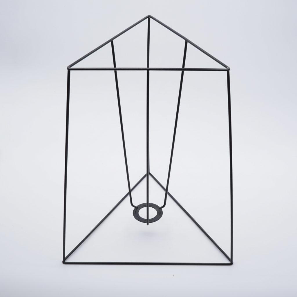 carcasse abat-jour triangle
