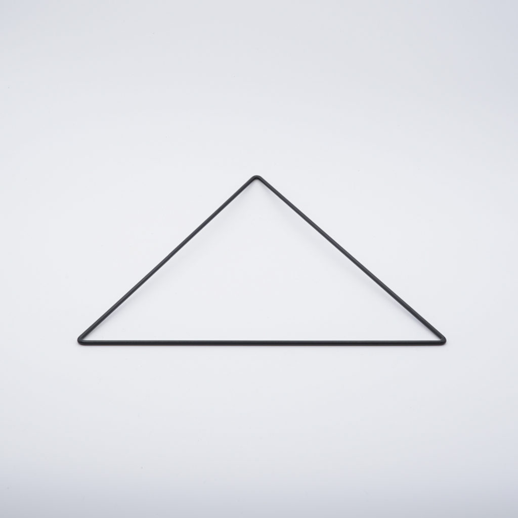 carcasse abat-jour triangle nu