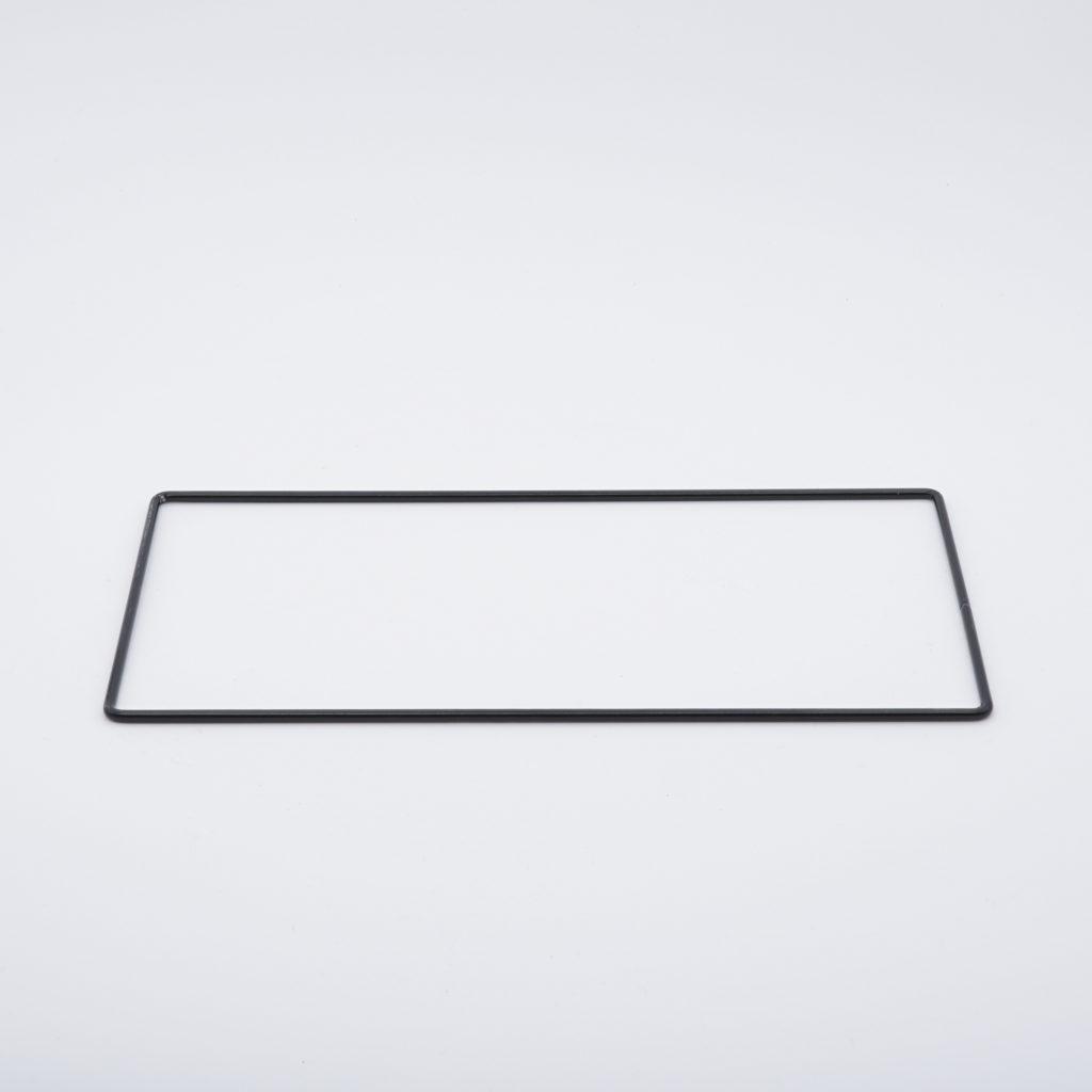 carcasse rectangle nu coins vifs
