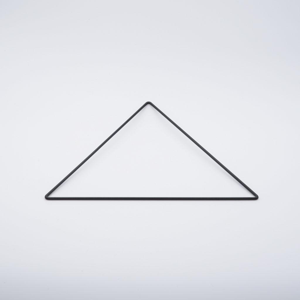 carcasse d'abat-jour triangle nu